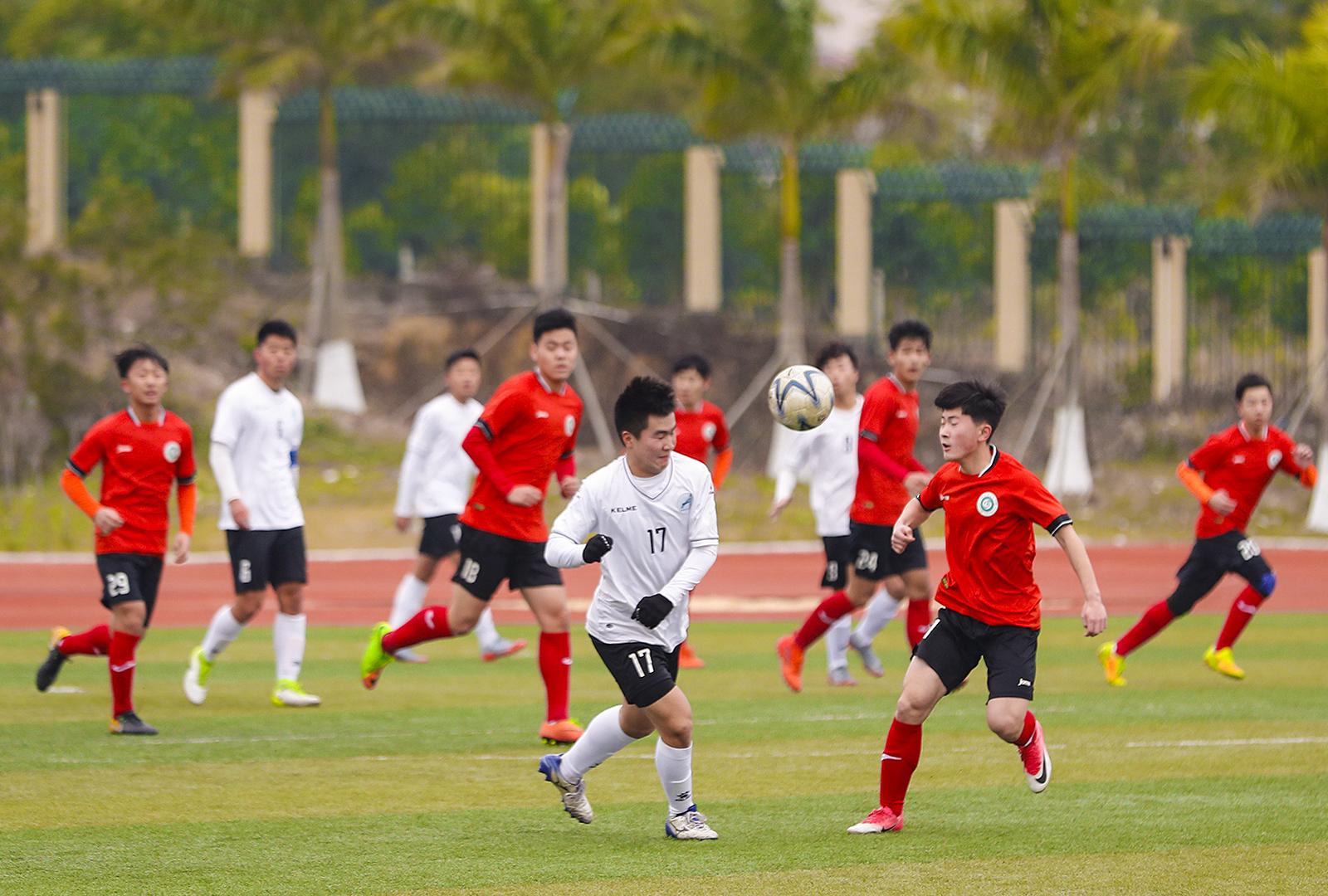 2018年中国中学生足球协会杯郑州队伍风采