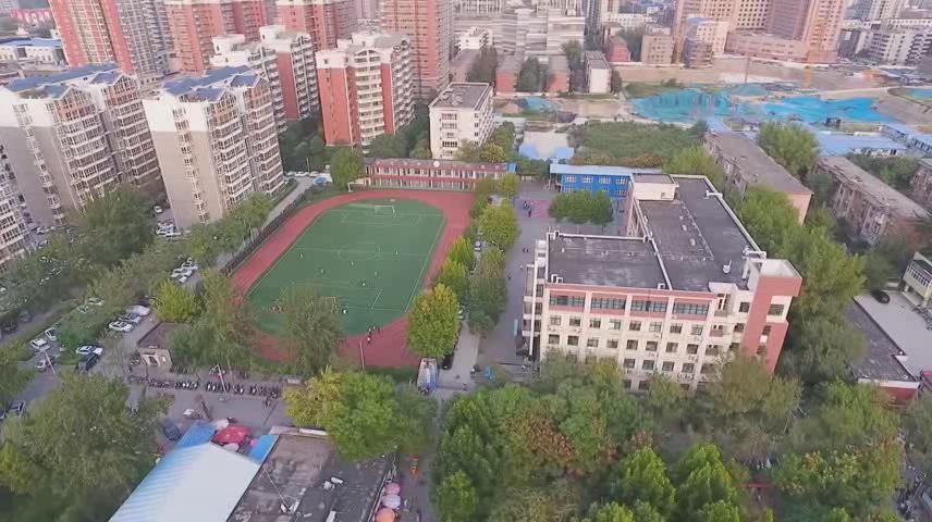 绿茵梦想 -郑州市轻工业大学附属中学