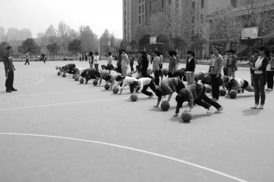 郑州市中小学试水运动处方