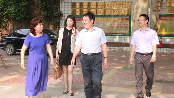 郑州市第四十五中学迎三年发展规划督导评估