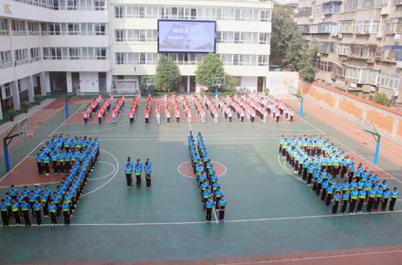 """郑州49中纪念""""9.18"""" 宣读《少年中国说》"""