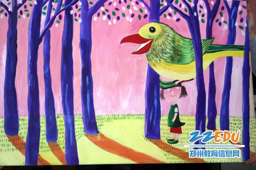 [实验幼儿园] 教师美术作品初春吐芳--新闻中心图片