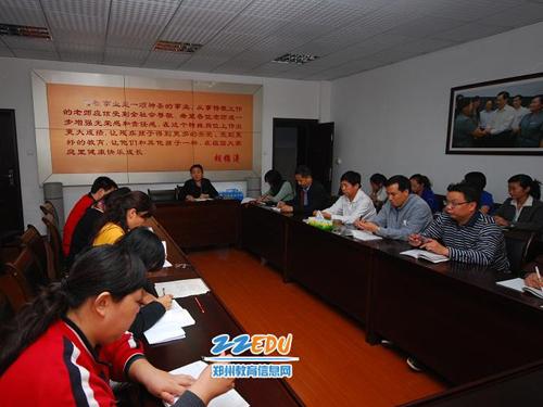 郑州盲聋哑学校举行纪念胡锦涛总书记视察学校一周年活动 -纪念胡锦