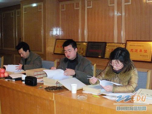 郑州电子信息中专喜迎市级文明学校验收