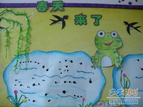 幼儿手指点画:小蝌蚪