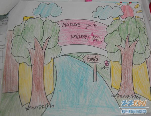 """近日,金水区文化绿城小学校开展""""我的绘本我做主""""英语绘本制作活动."""