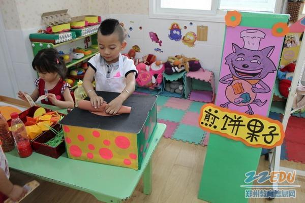 回族幼儿园开展角色游戏展示活动 高清图片