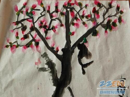 卢店镇直幼儿园开展水墨画教学活动尝试