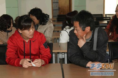 二七区淮河东路小学教师流动仪式启动 -教师流动为教育发展共同体注图片