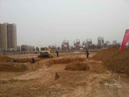 高新区五龙口小学建设正式开工