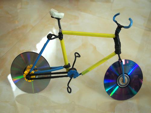 光盘自行车
