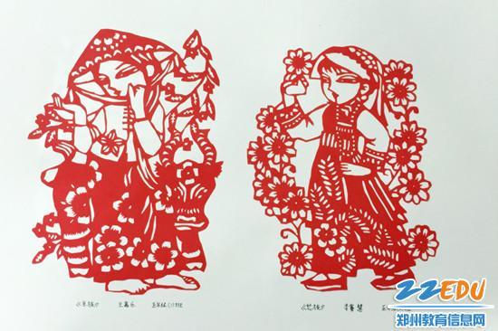 WORD天,56个民族在郑中附小的选修课上相聚了