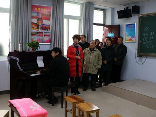 荥阳市迎接省社区教育实验区和示范区评估验收