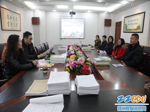 社记者到二七区淮河东路小学调研图片