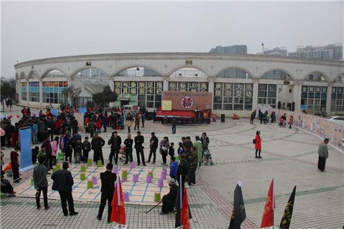 荥阳市首届象棋家庭趣味擂台赛开幕
