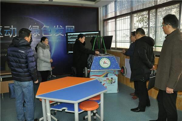 上街区迎接郑州市2017年县区教育工作专项督导