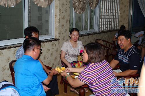 [34中] 国际交流共促教育发展 中韩欢聚盛开友