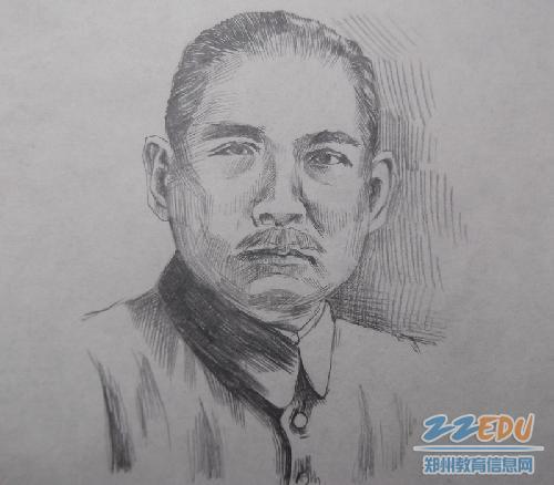 缅怀革命先烈_[106中] 学生舞动画笔纪念民主革命先驱--郑州校园网