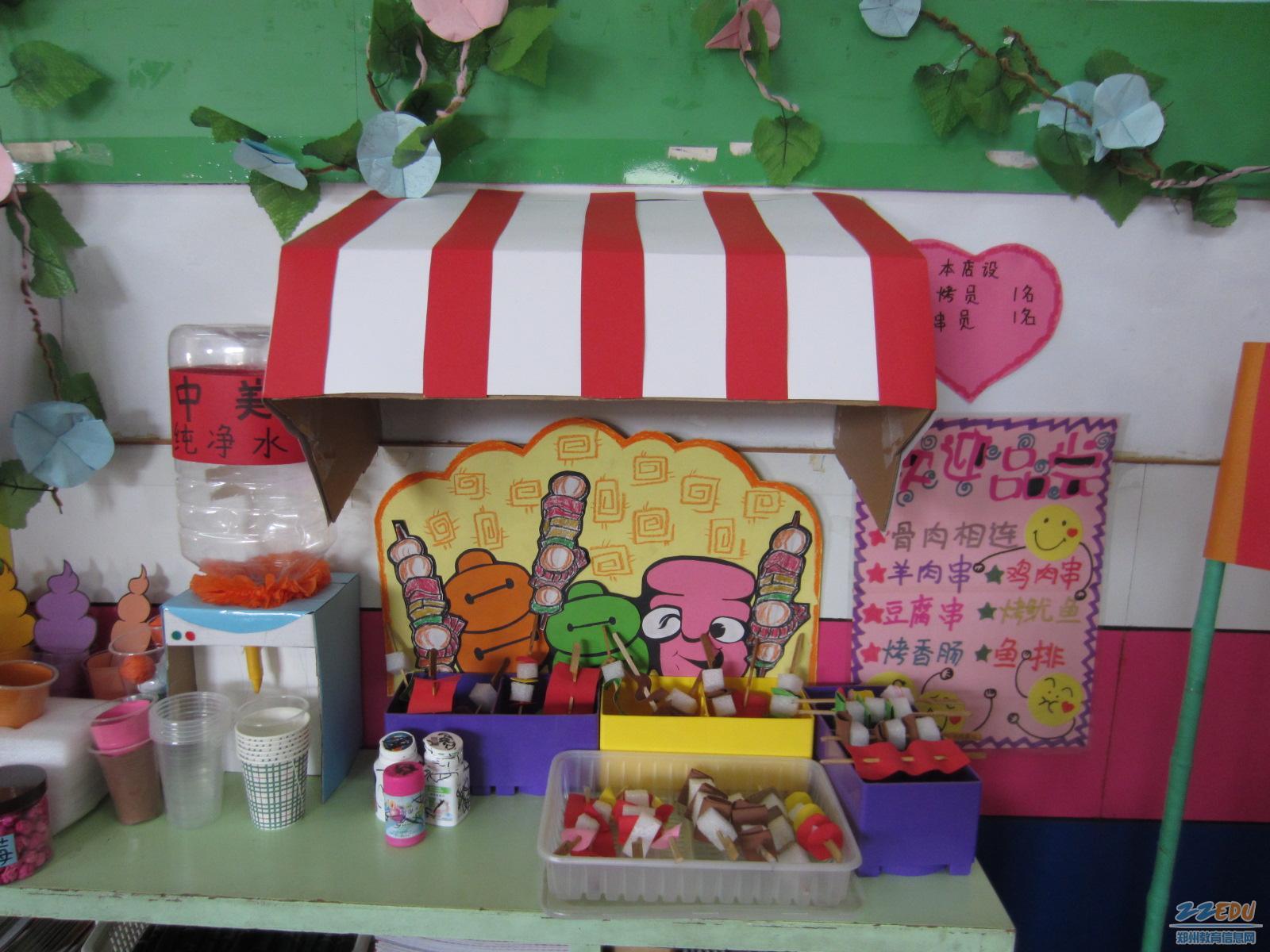 幼儿园教室布置吊饰 幼儿园小班环境布置 高清图片