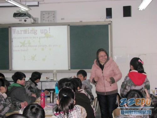 郑州/郑州二中集合学区力量共同问诊联合办学学校十三中课堂教学