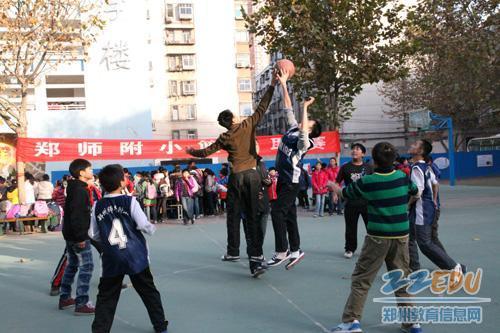 """[郑师附小] 校园""""NBA""""落下帷幕"""
