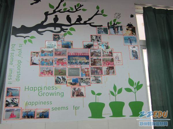 学习口号,橱窗设计都展现同学们的智慧和想象力,同学们以手抄报,绘画