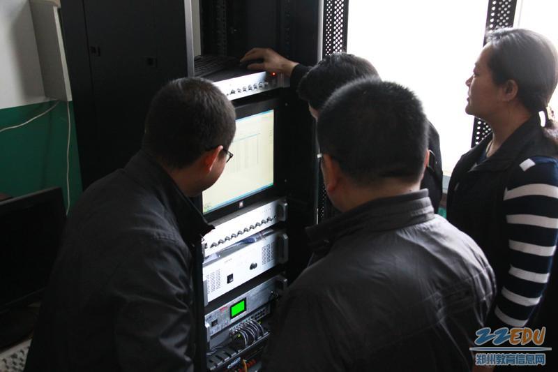 数字化 广播-集体学习调试数字化广播系统