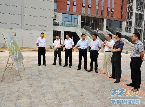多部门招生现场联合为郑州实验高中高中办公排名潢川县首届图片