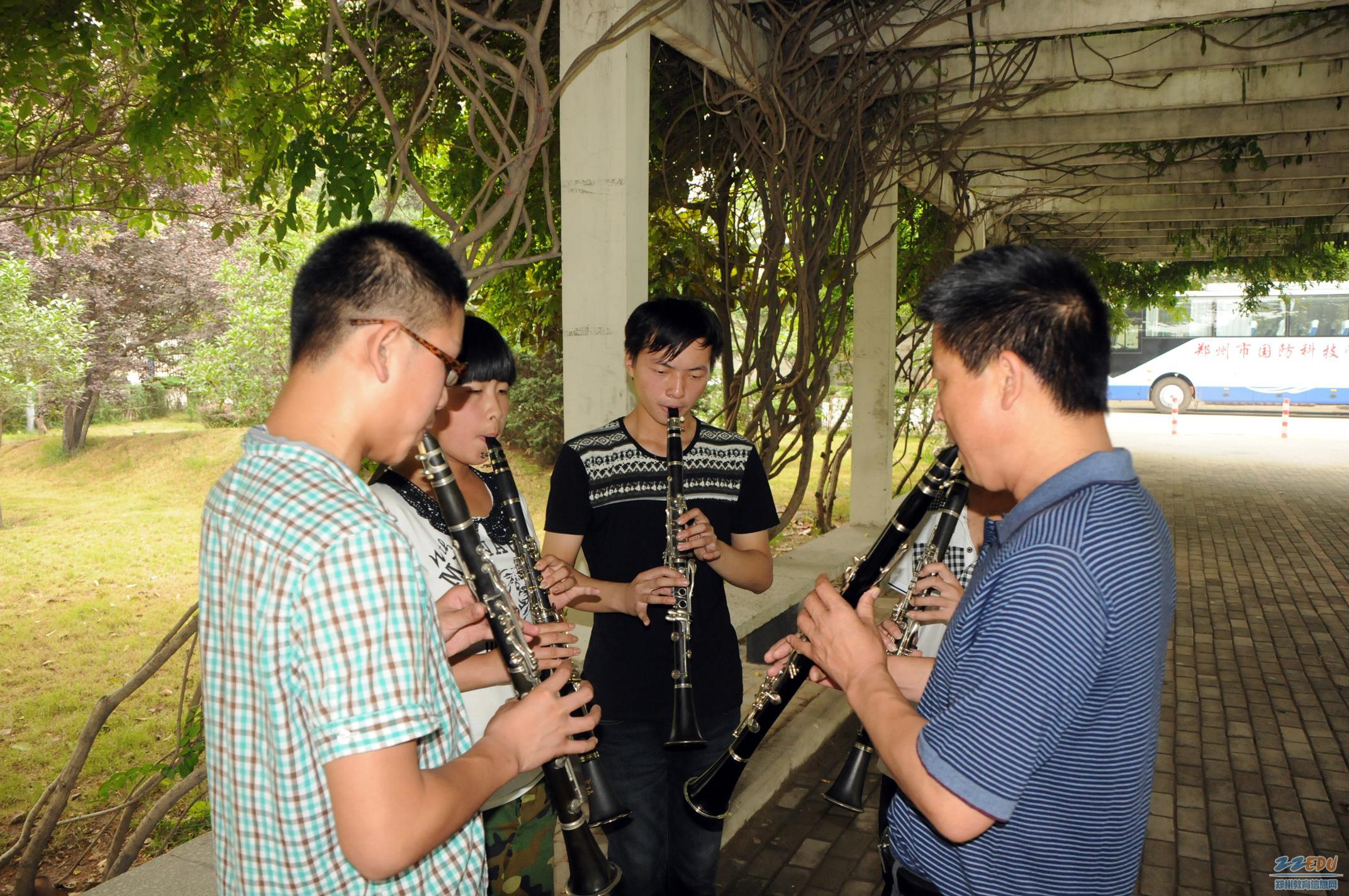 卡农单簧管谱子