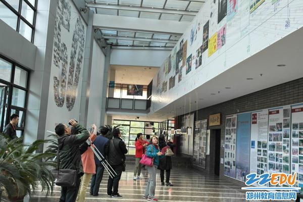 郑州七中对接去v教室与国内一流教室走出布置高中名校图片