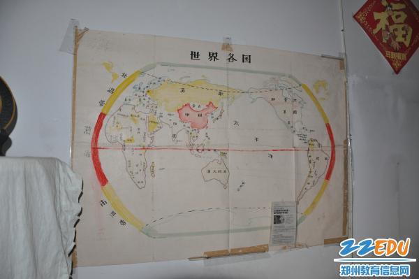涂老师的手绘世界地图