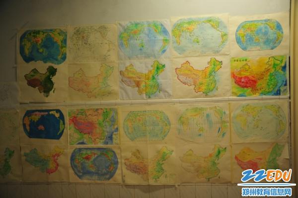 [106中]手绘特色学生寒假v特色之举办世界地图小学生环保时装秀服装做法图片