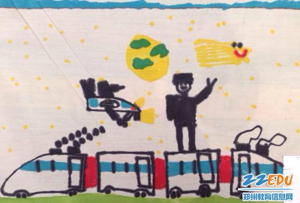 幼儿园中大班共150名幼儿参加了此次现场绘画
