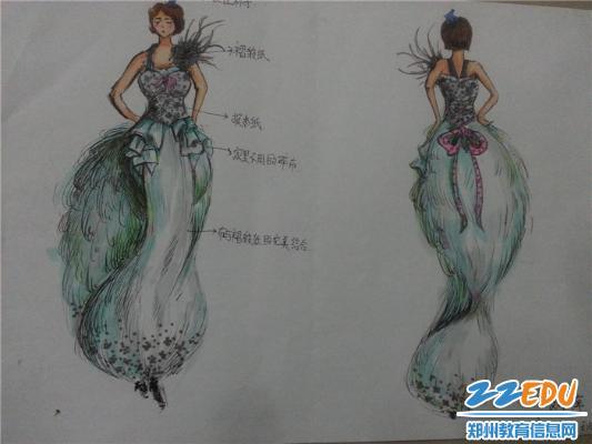 【校园】学生服装设计大赛,奇思妙想倡环保图片