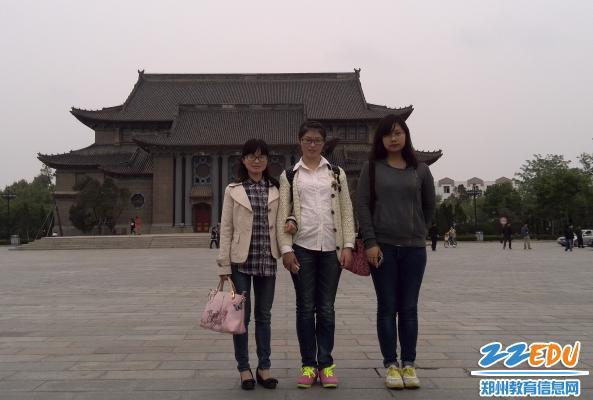 郑州18中教师党员,助学生微梦成真