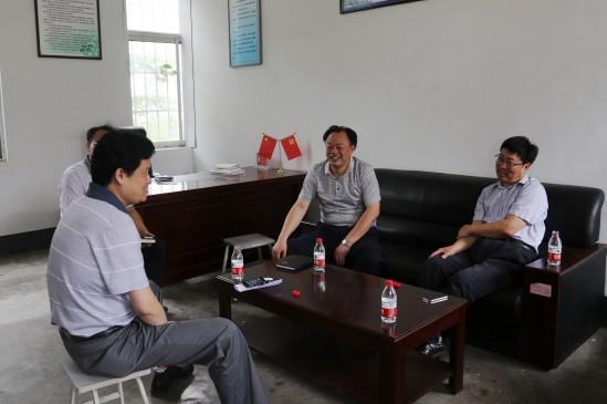 局长李成林等领导座谈图片