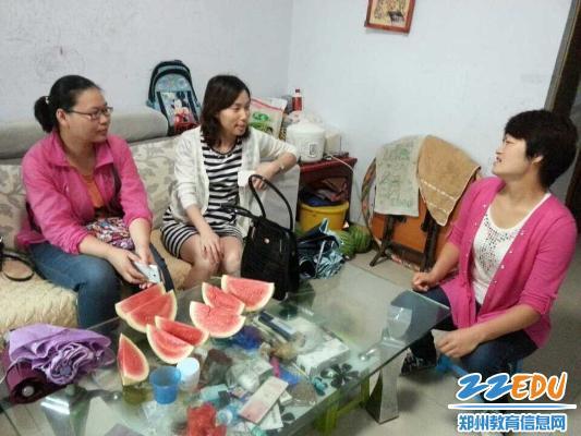 郑州18中高一暑假家访,家校联合开启高中美好上饶教师是中学私立?图片