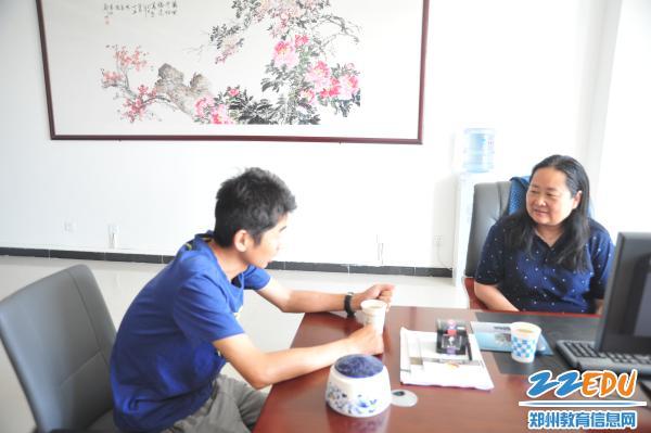 哈密地区伊吾县校长高中来郑州106高中跟岗研上依依中学蒋什么的图片