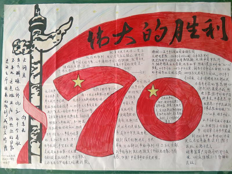 郑州市回民中学手绘历史展板精彩呈现