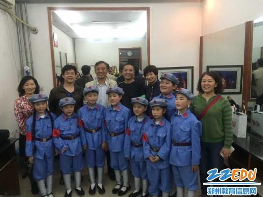 郑州市盲聋哑学校二胡社团受邀参加 郑州慈善日 活动图片