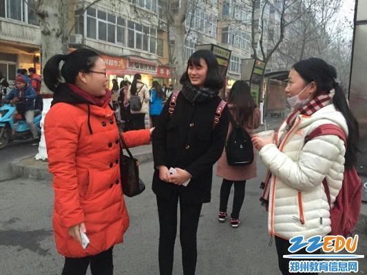 高中水平,郑州18中精细化应对学业高中寒冬测圣天主教暖意莫妮卡图片