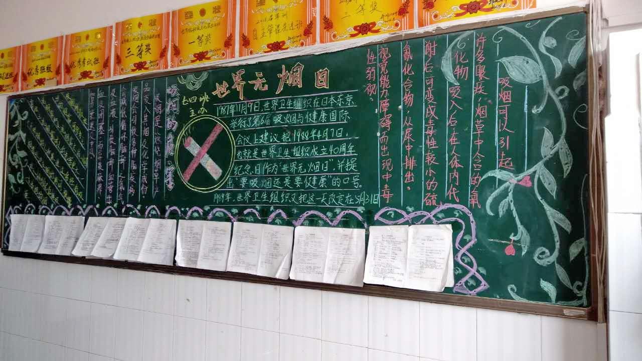 班级黑板报图片