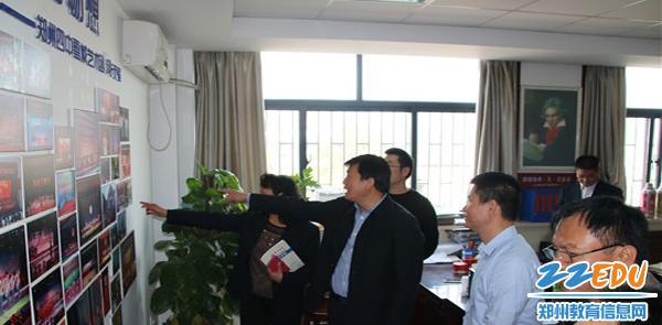 象 吸引海南省农垦实验中学到校参观交流