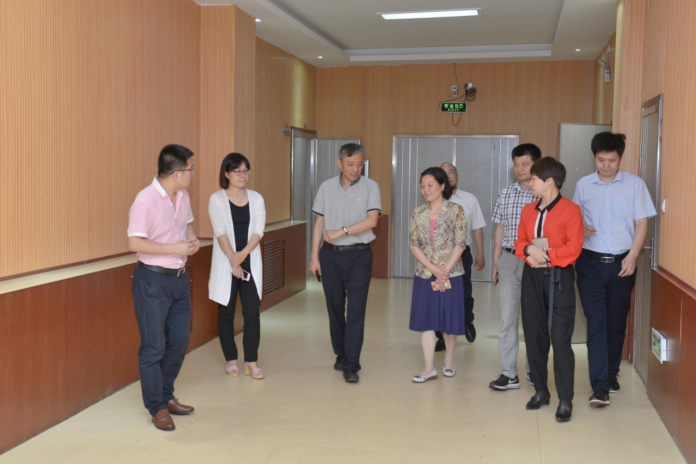 郑州市盲聋哑学校迎接三年发展规划督导专家组到校评估