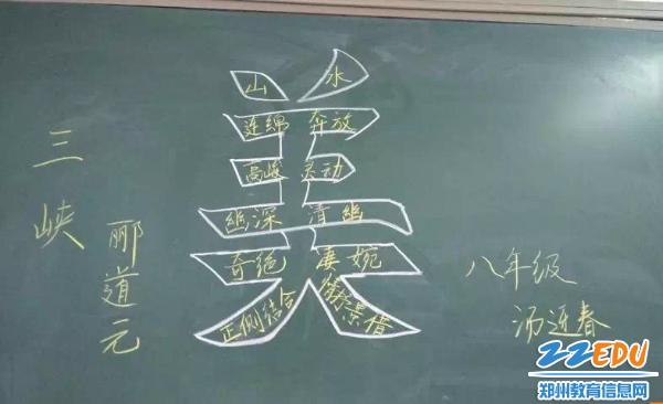 9月4日至6日,郑州47中教育集团工会组织思贤中学教师教学板书设计比赛图片