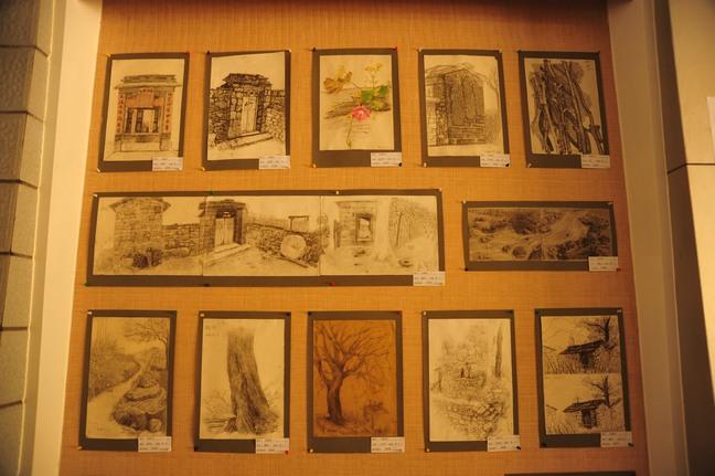 石板岩风景写生作品展