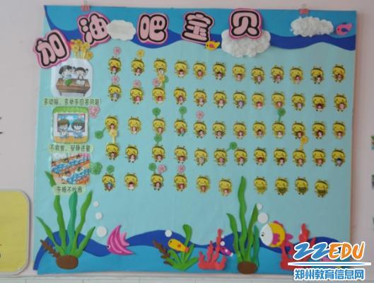 中牟县百花路幼儿园于近日开展了环境创设评比及分享交流活动.图片