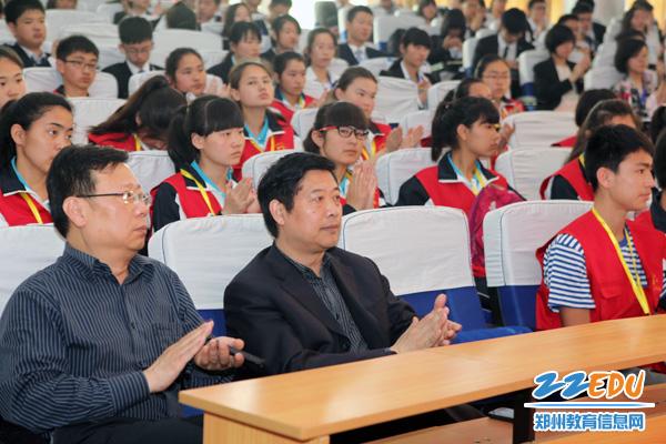 郑州市中学生模联大在郑州11中举行高中生苏州考录取率初中高中图片