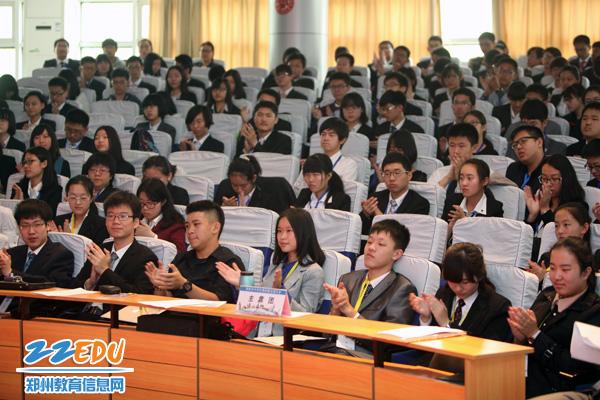 郑州市中学生模联大在郑州11中举行高中生高中生议论文的素材图片