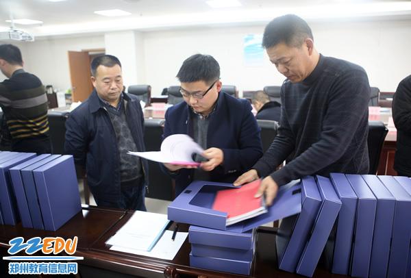 市教育局接受郑州市2017年度平安建设及信访工作考核组考核